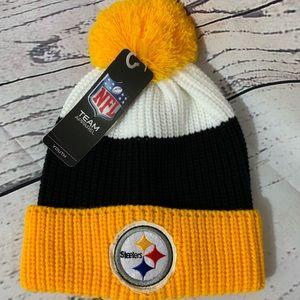 NEW!! NFL Steelers Youth Beanie